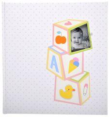 KPH Dětské fotoalbum Baby toys růžové