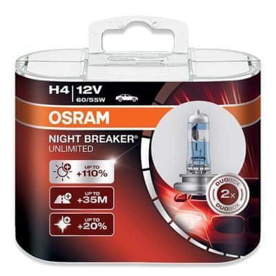 Osram OSRAM H4 NIGHT BREAKER, 60/55W, 12V, P43t