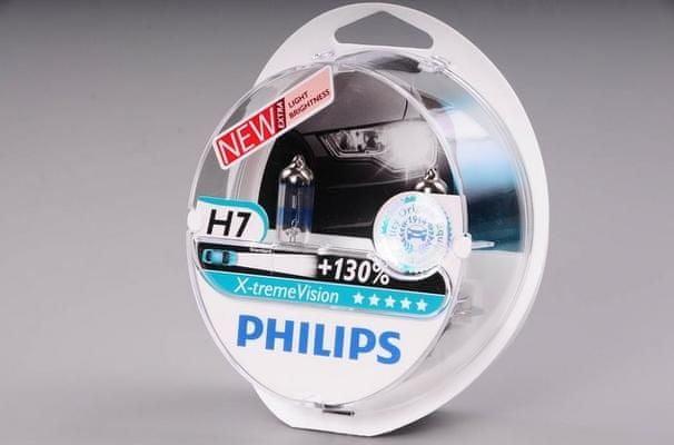 Vyrobce PHILIPS H7 X-treme Vision 12972XVS2 12V 55W