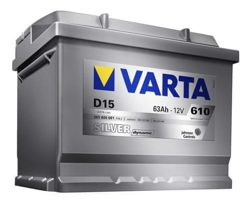 varta Autobaterie Varta Silver Dynamic 12V 77Ah 780A, 577 400 078, 577400078