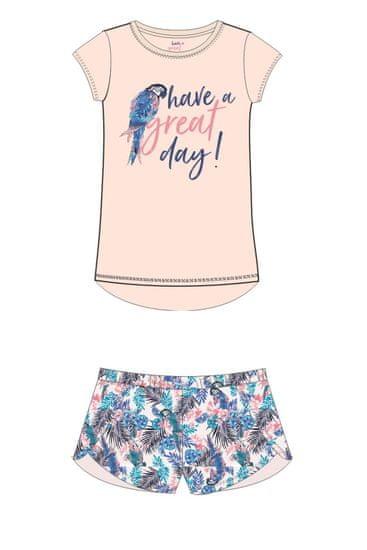 Henderson Női pizsama 38051 + Nőin zokni Gatta Calzino Strech