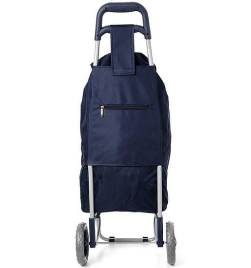 Aerolite Nákupní taška na kolečkách HOPPA ST-40 - modrá