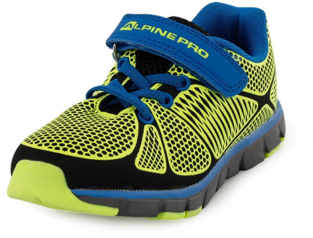 ALPINE PRO chlapecká sportovní obuv KBTR241530 29 modrá