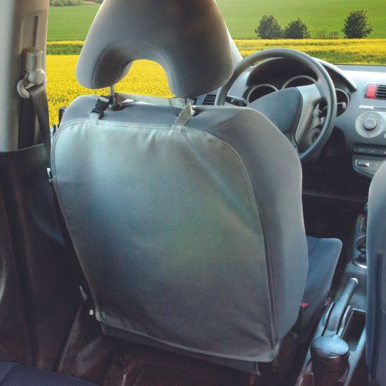 DIAGO zaščitna prevleka za sprednji sedež, siva