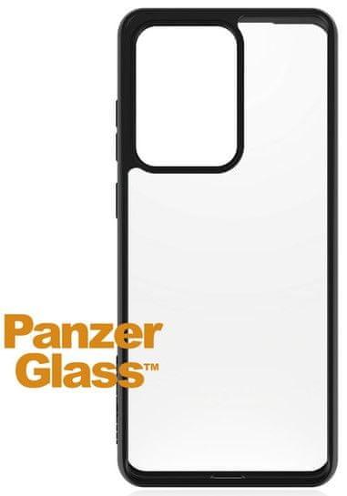 PanzerGlass Clear Case ovitek za Samsung Galaxy S20 Ultra, črn