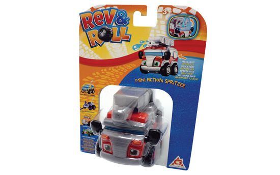 Rev&Roll Mini Action Spritzer gasilski avtomobil (BL.38611)