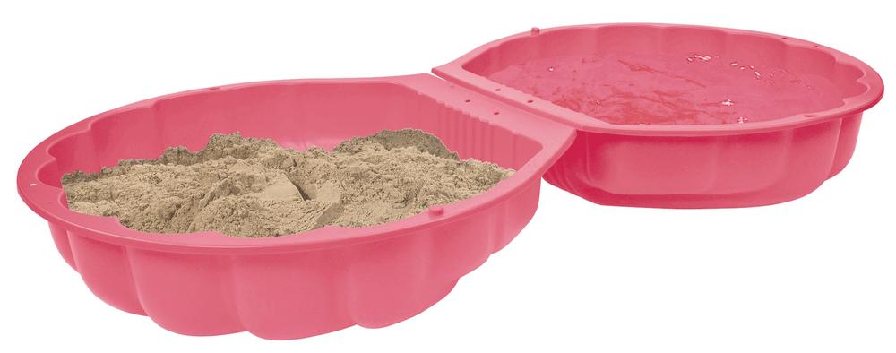 BIG Pískoviště mušle, růžová