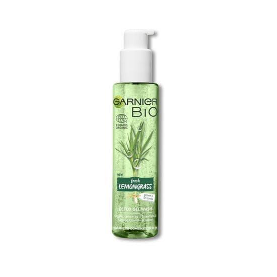 Garnier Bio Lemongrass gel za čišćenje lica, 150 ml