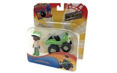 Rev&Roll Die Cast Owen and Crash figura in avtomobil (BL.38328)