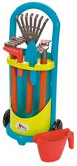 ECOIFFIER wózek z narzędziami ogrodowymi, niebiesko - zielony