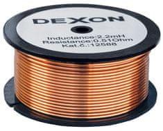 DEXON  Cívka 2,2 mH - drát 1,25