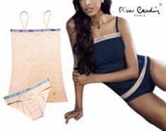 Pierre Cardin komplet (tílko+kalhotky) - marhuľová - (M)