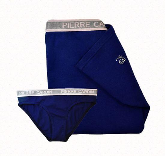 Pierre Cardin együttes (tank tetején + bugyi) - kék