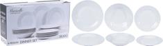 EXCELLENT Jídelní sada talířů MARSEILLE porcelán 18 ks