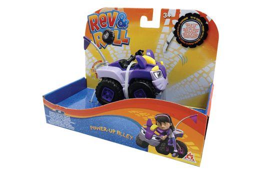 Rev&Roll Power Up Alley avtomobil, na baterije (ŠK.38332)