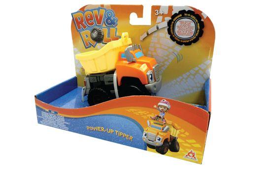 Rev&Roll Power Up Tipper avtomobil, na baterije (ŠK.38335)
