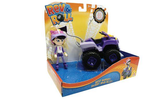 Rev&Roll Best Buddies Avery and Alley figura in avtomobil (SET.38732)