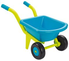 ECOIFFIER Kerti talicska sárga-kék, 2 kerékkel