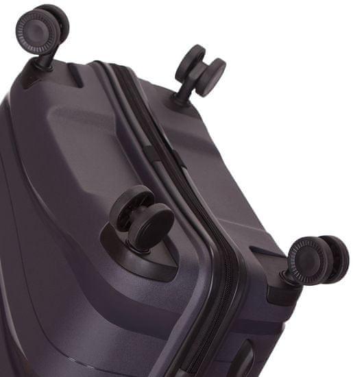 AZURE Cestovní kufr SIROCCO T-1233/3-M PC - šedá
