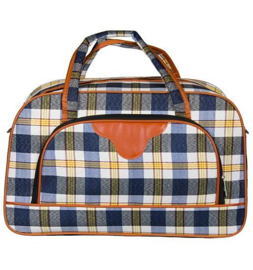 REAbags Cestovní taška REAbags LL36 - modrá/žlutá