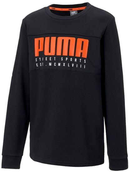 Puma bluza chłopięca Alpha Crew TR B Puma Black