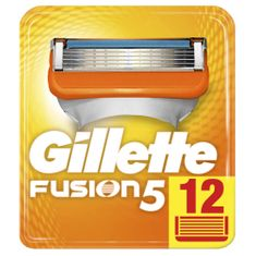 Gillette Fusion náhradné hlavice 12ks
