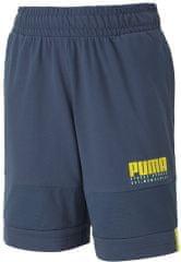 Puma fiú rövidnadrág Alpha Jersey Shorts B Dark Denim, 164, sötétkék