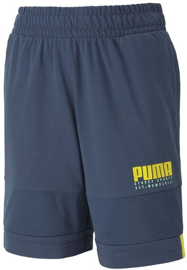 Puma fantovske kratke hlače Alpha Jersey Shorts B Dark Denim