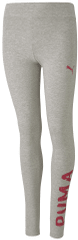 Puma Alpha Leggings G dekliške pajkice Light Gray Heather, 116, sive