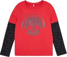 Garnamama chlapecké tričko Pixel 116 - 122, červená