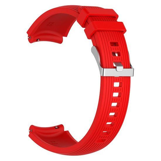 BStrap Samsung Gear S3 Silicone Davis pašček, Red