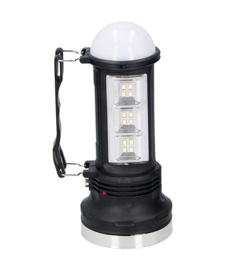 Grundig solarna prenosna svetilka, 6+12 LED
