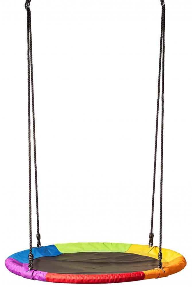 Woody Houpací kruh duhový (průměr 100cm) - použité