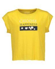 Blue Seven dívčí tričko 176 žlutá