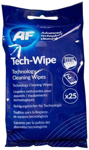 AF Mobile Wipes - Antistatický čistič LCD a dotykových zařízení AMTW025P (25 ks)