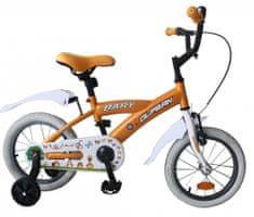 """Olpran rowerek dziecięcy Bary 14"""" pomarańczowy"""