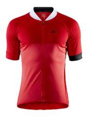 Craft Adopt moška kolesarska majica, S, rdeča