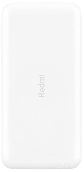 Xiaomi Redmi Power Bank prenosna baterija, 20000 mAh, bela