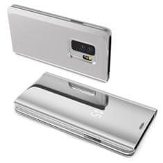 MG Clear View knjižni ovitek za Samsung Galaxy S8 G950, srebrna