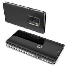 MG Clear View knjižni ovitek za Huawei Mate 20 Lite, črna