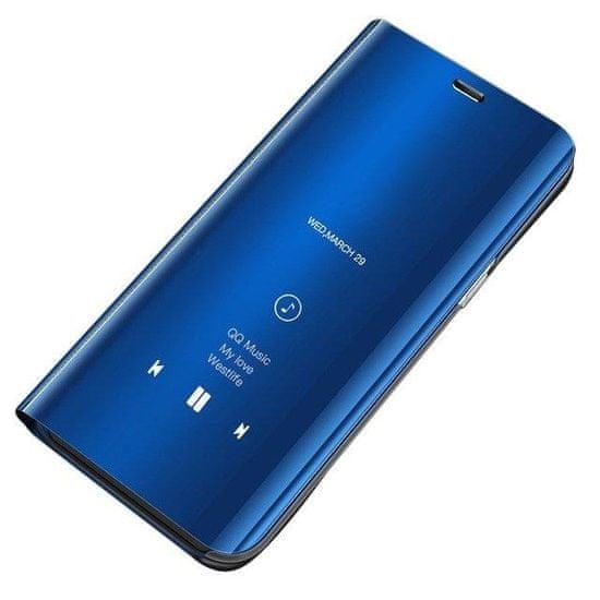 MG Clear View knižkové púzdro pre Samsung Galaxy S8 G950, modré