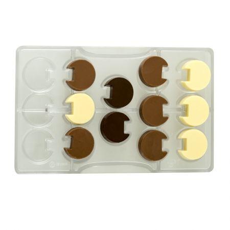 Decora Forma na čokoládu 3D - kolečka
