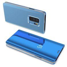 MG Clear View flip ovitek za Samsung Galaxy S10e, modra