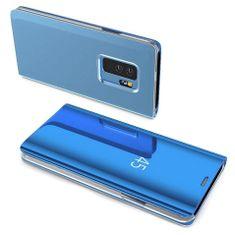 MG Clear View knjižni ovitek za Samsung Galaxy A40, modra