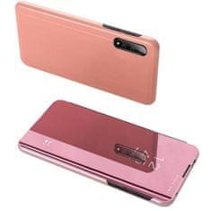 MG Clear View knjižni ovitek za Xiaomi Mi A3, roza