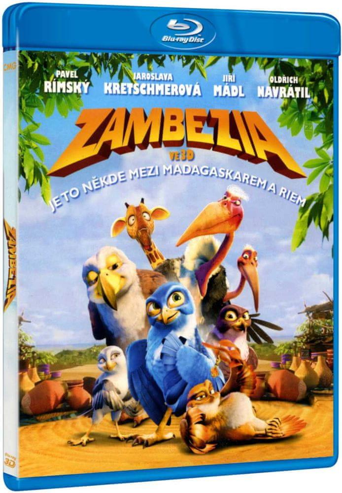 Zambezia - Blu-ray 3D + 2D