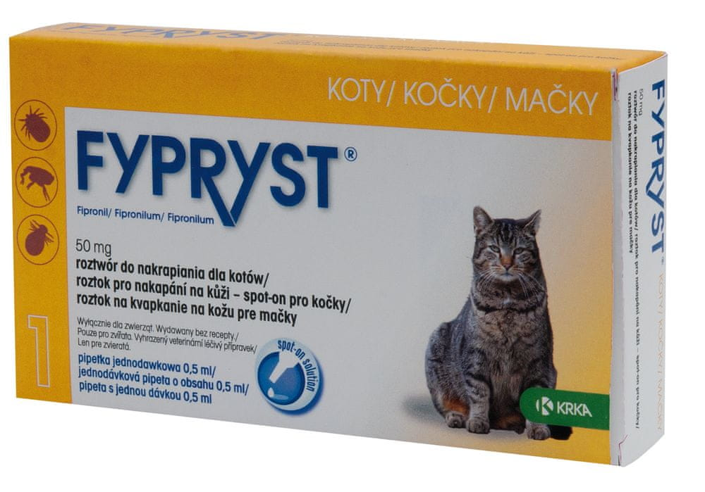 Fypryst spot-on kočka 1x0,5 ml