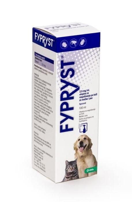 Fypryst antiparazitický kožní sprej 100 ml