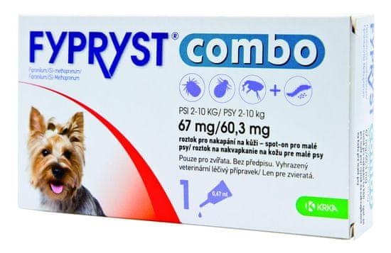 Fypryst combo spot-on S pes 2-10 kg, 1x0,67 ml