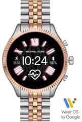 smartwatch Gen5 Lexington 2 Tri Tone Stainless Steel (MKT5080)